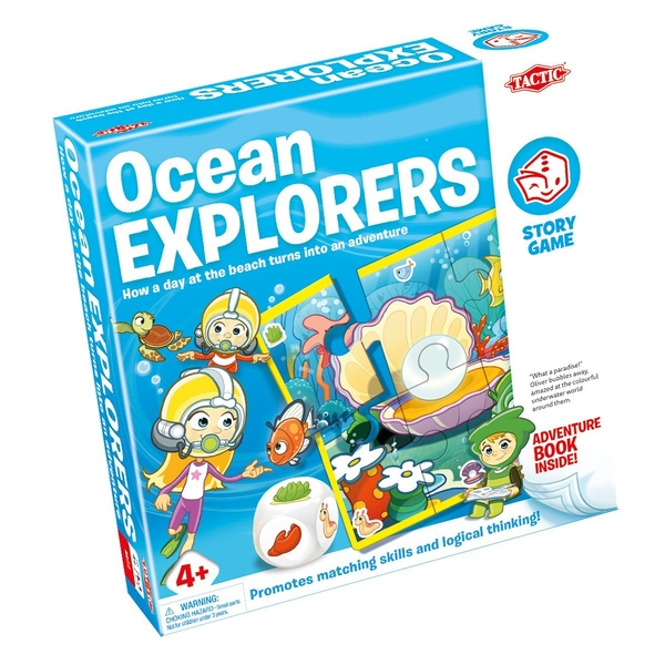 Story Games - Ocean Explorer Board Game - Image 1