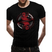 Deadpool - Bad Good Men's Small T-Shirt - Black