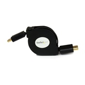 4 ft Retractable High Speed HDMI Cable with Ethernet HDMI to HDMI
