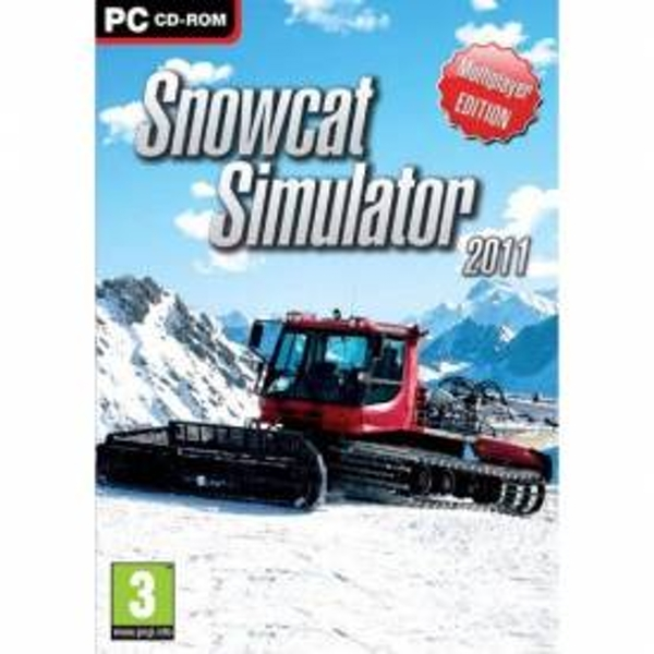 Snowcat Simulator 2011 Game PC