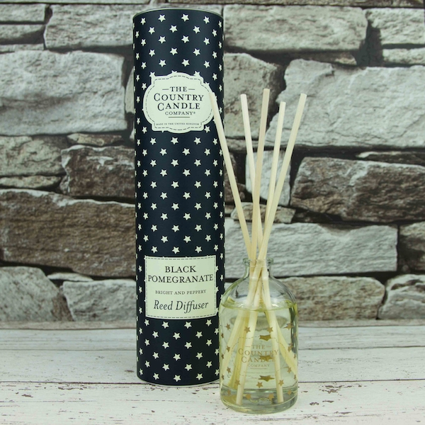 Black Pomegranate (Superstars Collection) Country Candle Reed Diffuser