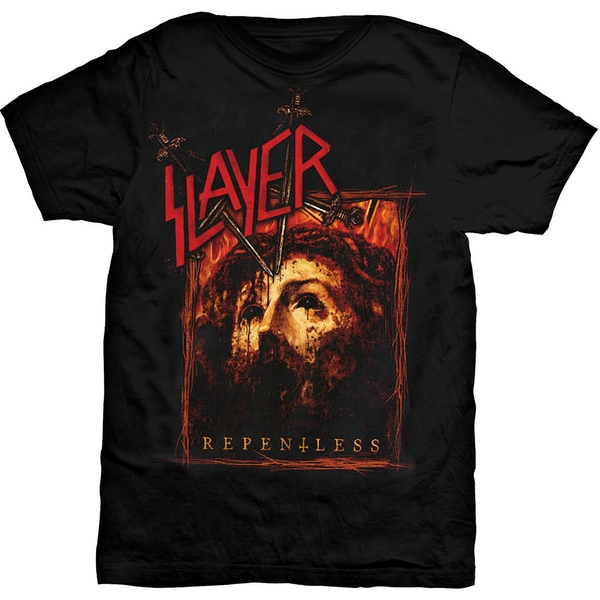 Slayer - Repentless Rectangle Unisex Small T-Shirt - Black