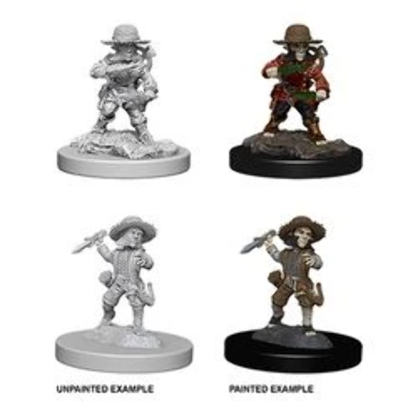 Pathfinder Battles Deep Cuts Unpainted Miniatures (W1) Male Halfling Rogue