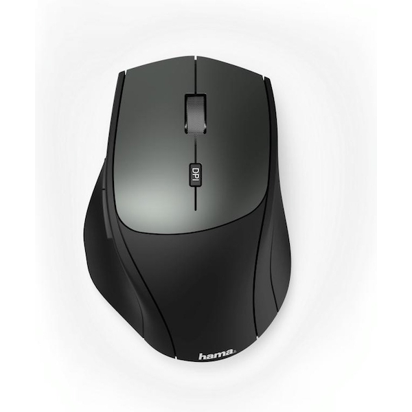 Hama Optical 6-button wireless mouse MW-600 Dual mode with USB-C/USB-A Black