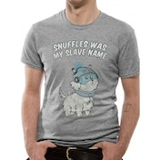 Rick And Morty - Snuffles Men's X-Large T-Shirt - Grey