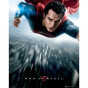 Man Of Steel - Flying Mini Poster