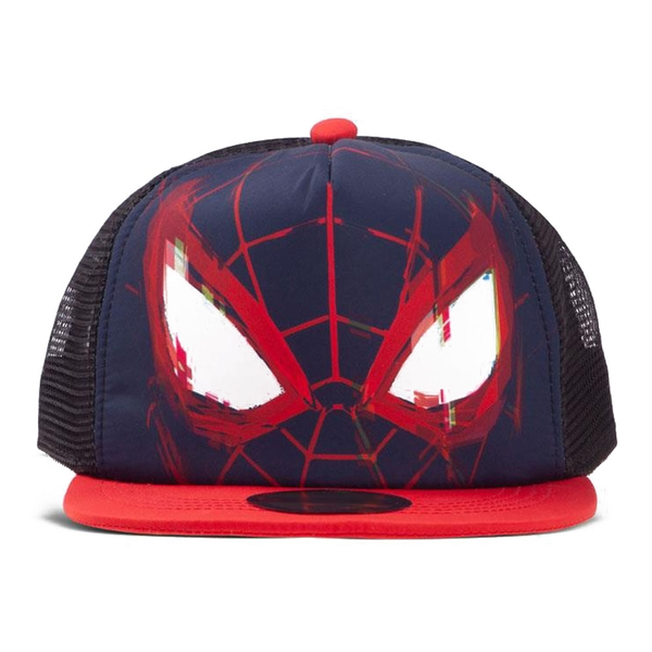 MARVEL COMICS Spider-man Mask Kid's Trucker Baseball Cap