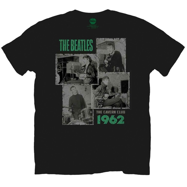 The Beatles Cavern Shots 1962 Men's Medium T-Shirt - Black