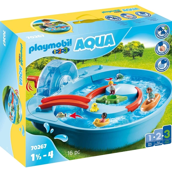 Playmobil Aqua Splish Splash Water Park Playset
