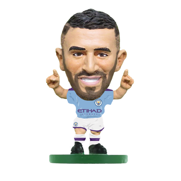 Soccerstarz Riyad Mahrez Man City Home Kit 2020 Figure