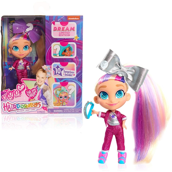 JoJo Siwa D.R.E.A.M Limited Edition Hairdorables Doll - Tracksuit Outfit