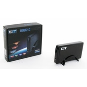 CiT 3.5 inch USB 2.0 SATA and IDE HDD Enclosure