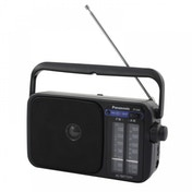 Panasonic RF2400 Portable 2 Band AM/FM Radio Black UK Plug