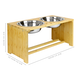 Raised Pet Bowls | For Dogs & Cats | M&W Large New - Image 3