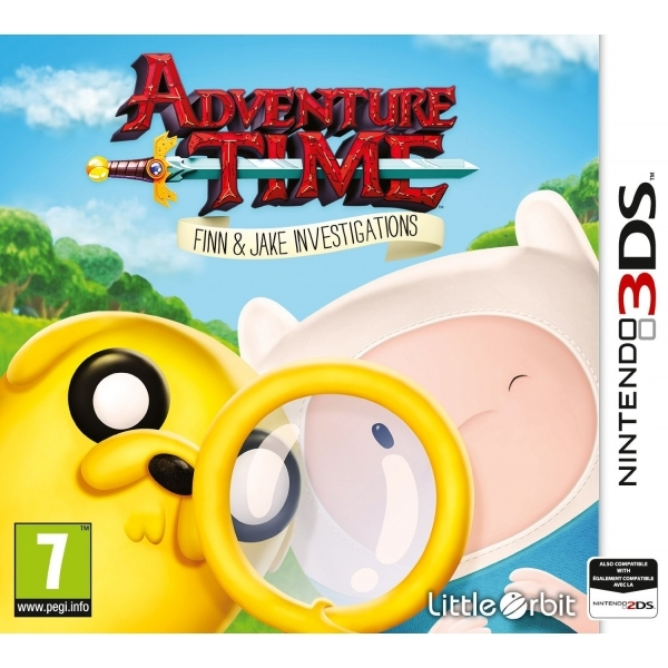 Adventure Time Finn and Jake Investigations 3DS Game