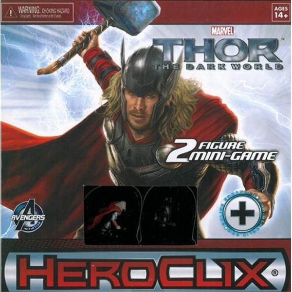 Marvel Hero Clix Thor Dark World Mini Game