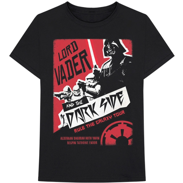 Star Wars - Darth Rock Two Men's Small T-Shirt - Black