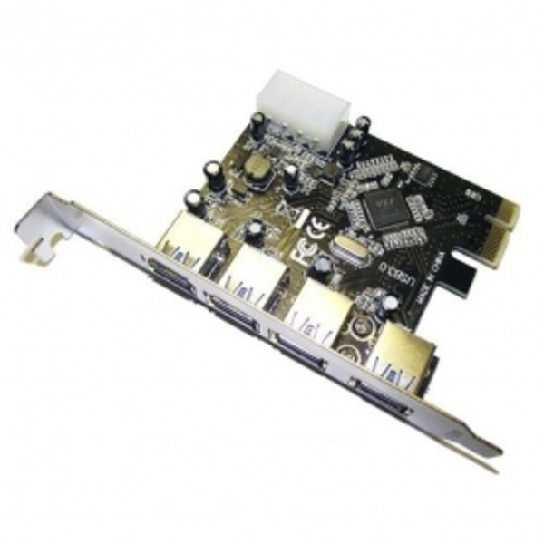 Image of DYNAMODE 4 Port USB3.0 PCIe card