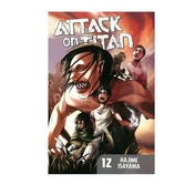 Attack on Titan 12 Paperback