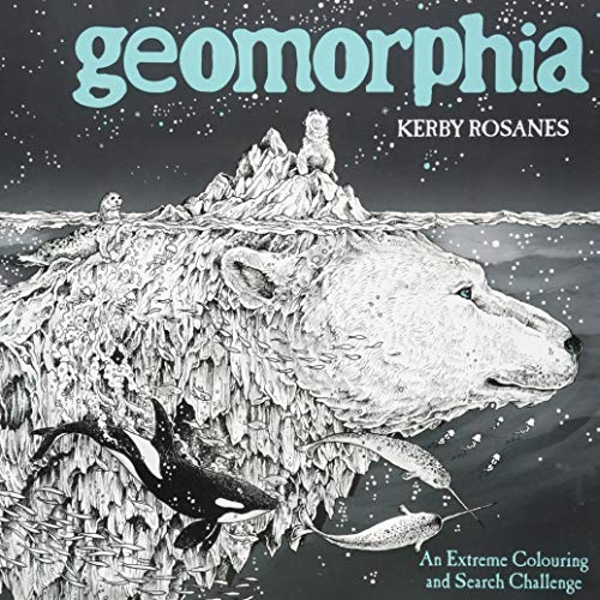 Geomorphia An Extreme Colouring and Search Challenge Paperback / softback 2018
