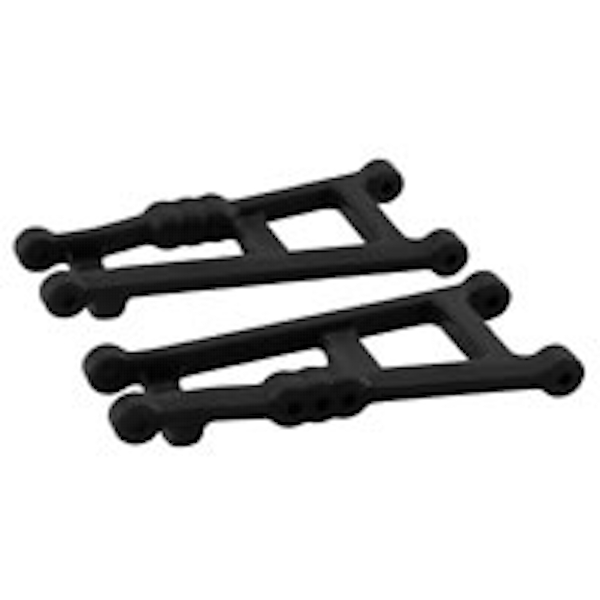 Rpm Black Rear A-Arms For Traxxas Electric Stampede Or Rustler