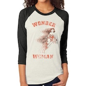 Wonder Woman - Retro Women's X-Large T-Shirt - White