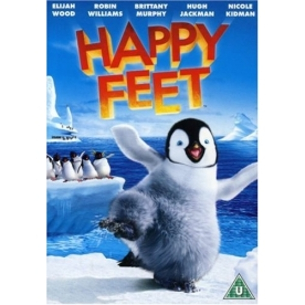 Happy Feet 2006 DVD