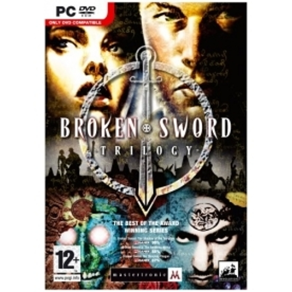 Ex-Display Broken Sword Trilogy Game PC Used - Like New