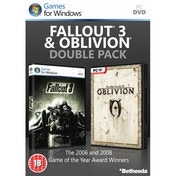Fallout 3 & The Elder Scrolls IV Oblivion Double Pack Game PC