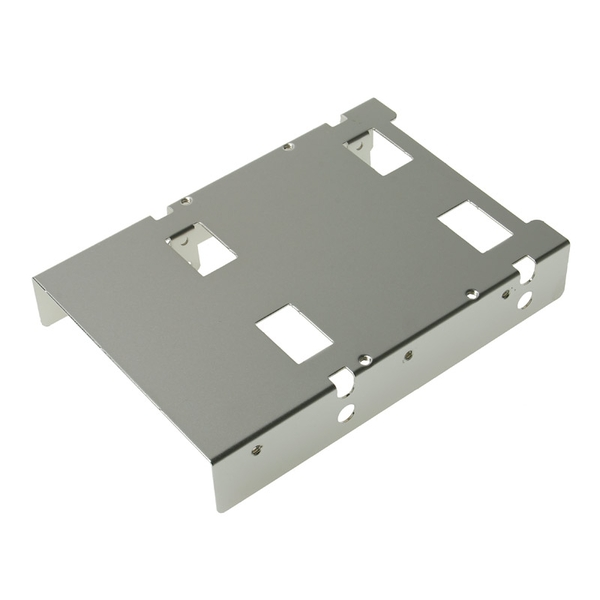 Silverstone Single 3.5inch Bay Converter to 2 x 2.5inch Bays  (SST-SDP08)