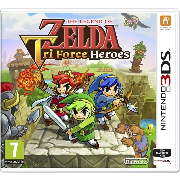 The Legend Of Zelda Triforce Heroes 3DS Game - Image 1