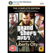 Ex-Display Grand Theft Auto IV 4 GTA Complete Edition Game PC Used - Like New