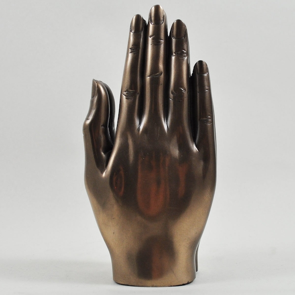 Praying Hands Cold Cast Bronze Sculpture