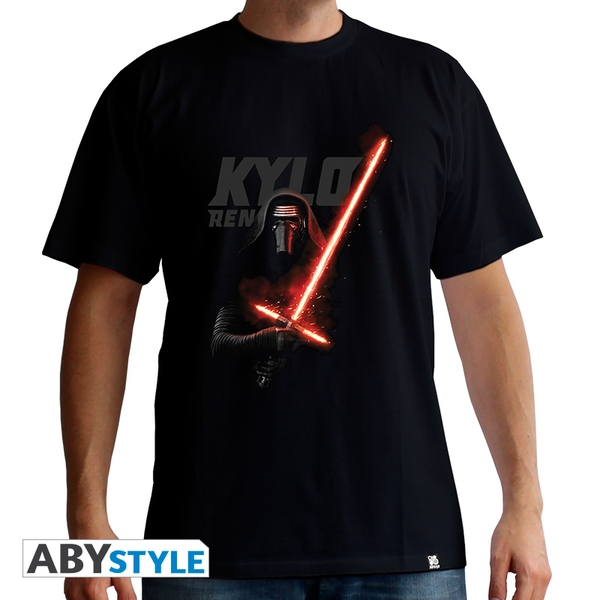 Star Wars - Kylo Ren Men's Large T-Shirt - Black