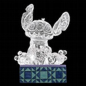 Stitch Ice Bright Disney Traditions Figurine