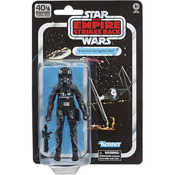 TIE Fighter Pilot (Star Wars) Black Series 40th Anniversary Retro Action Figure