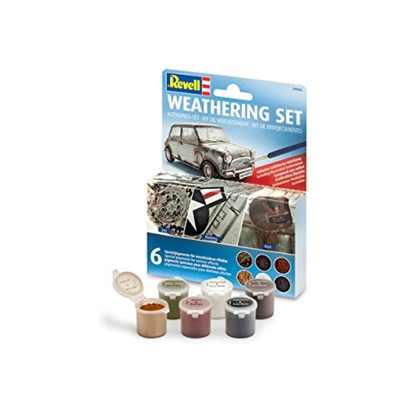 "Revell ""Weathering Set"" (6 Coloured Pigments)"