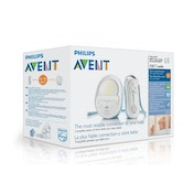Philips AVENT DECT Baby Monitor SCD505/01 with Light and Lullabies