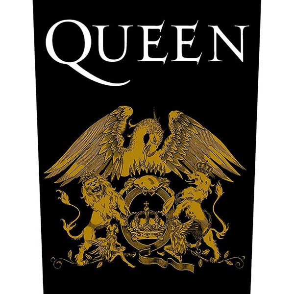 Queen - Crest Back Patch