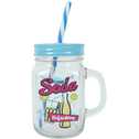 Cream Soda Mason Drinking Jar Pack Of 12