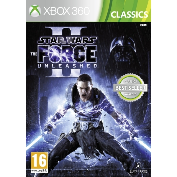 Star Wars The Force Unleashed II 2 (Classics) Game Xbox 360