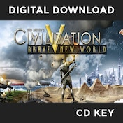 Sid Meier's Civilization V 5 Brave New World Expansion Pack Game PC CD Key Download for Steam