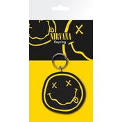 Nirvana Smiley Key Ring