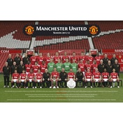 Manchester United Team Photo 11/12 Maxi Poster
