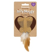 Rosewood Jolly Moggy Natural Butterfly Cat Toy