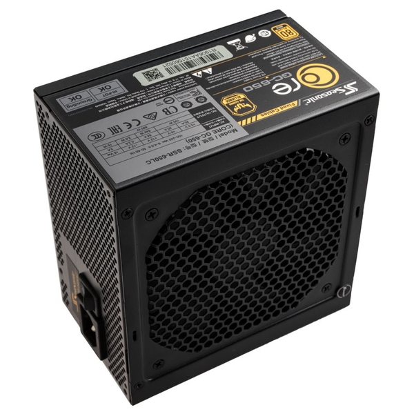 Seasonic Core Gold GC-650 650W 80+ Gold Power Supply UK Plug