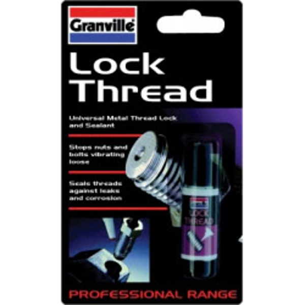 Granville Lockthread Adhesive 10ml