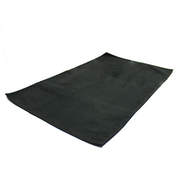 Quick Drying Microfiber Towel. Lightweight Home & Gym M&W Black Small (50x30cm)