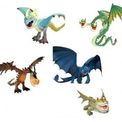Ex-Display How to Train Your Dragon Action Dragons Used - Like New