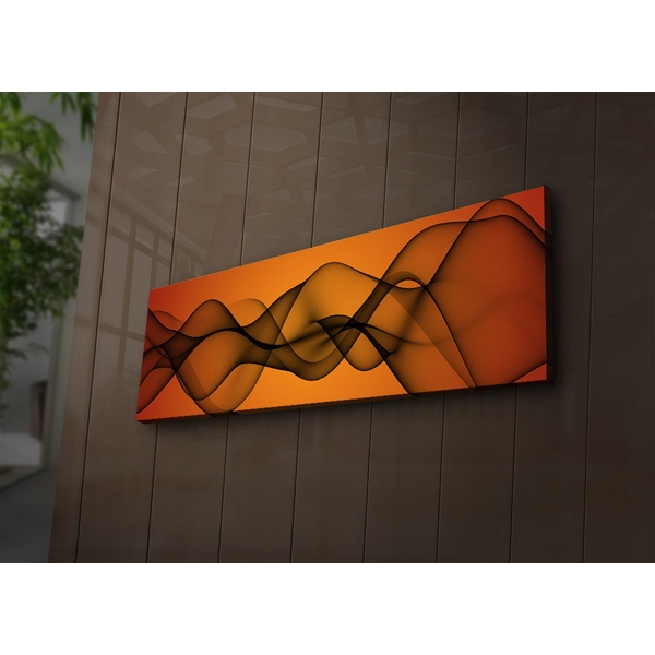 3090?ACT-75 Multicolor Decorative Led Lighted Canvas Painting